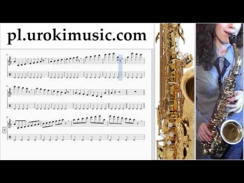 Nauka Gry Na Saksofonie (Tenorowy) Mission Impossible - Theme Nuty Poradnik Część 1 Um-i352
