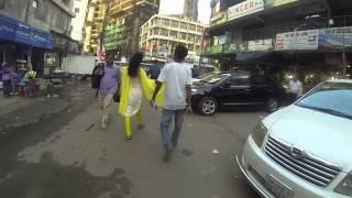 Jim walking around in Dhaka