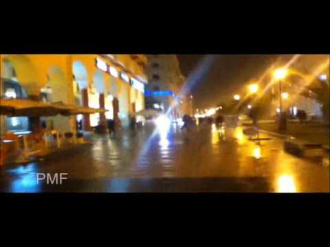 Police clash with Protesters in Thessaloniki, Greece 12/02/12