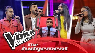 The Judgement | Team Kasun Day 08 | The Knockouts | The Voice Sri Lanka