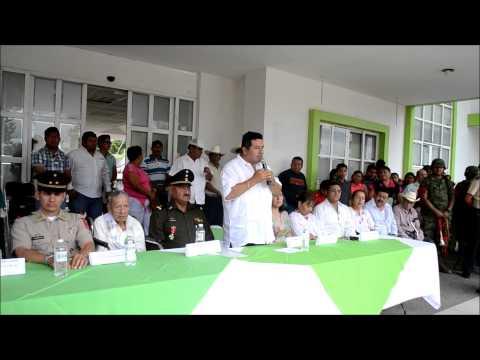 Jorge Torres Grajales en 138 Aniversario de la Fundacion de Villaflores
