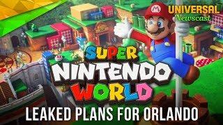 Orlando's Super Nintendo World Leaked! - Universal Studios News 06/24/2017