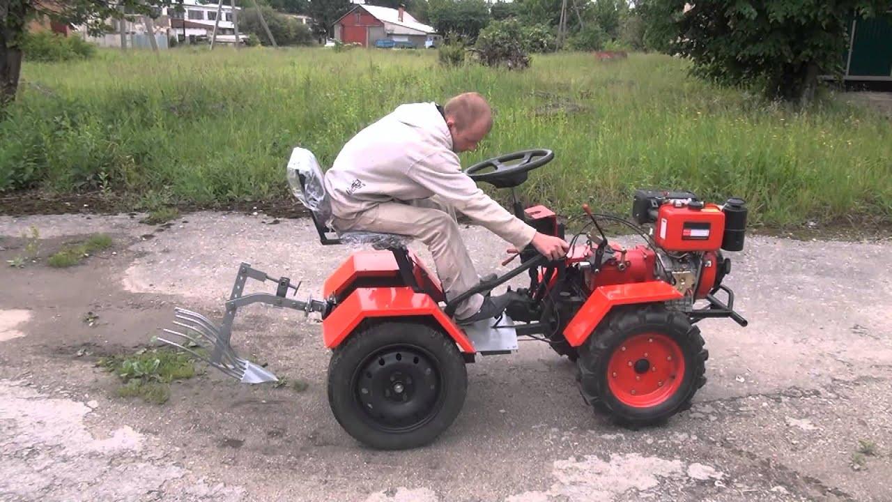 Трактор своими руками из мотоблока ока