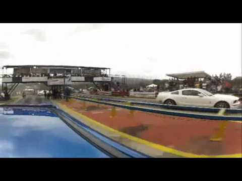 10 Sec SUBARU STI vs MUSTANG GT (Turagua Drag Racing)