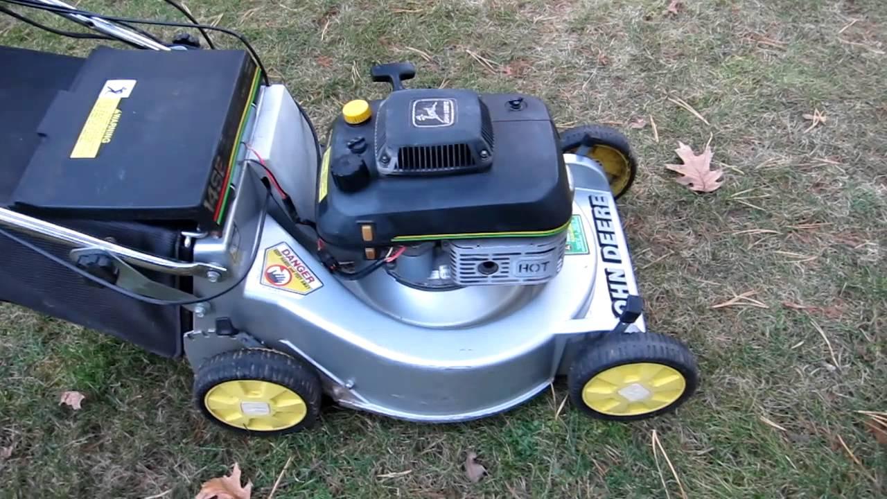 John Deere 14se Mower Restoration In Progress Youtube