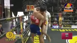 Lao Chettra vs Yod Phayak(Thai) | Bayon TV boxing 18-08-2018