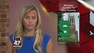 McLaren donates $1.5M to MSU for nursing