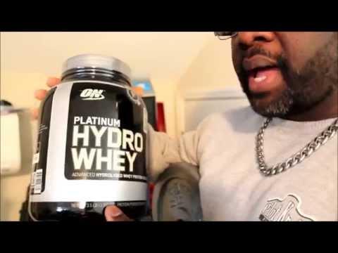 Optimum Nutrition Platinum Hydro-Whey Protein Supplement Review