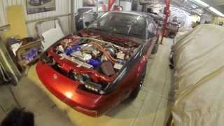 DRIFT CAR RACE ENGINE START UP 180SX CA20DET