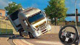 SE BEBER NÃO DIRIJA!!! - Euro Truck Simulator 2 + G27