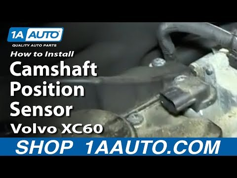 How To Install Replace Camshaft Position Sensor Volvo XC60