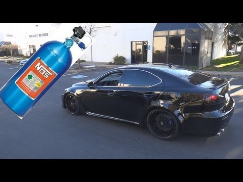 2011 Lexus ISF Nitrous Oxide System Install - Gearhead Garage!