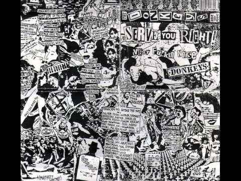 The Donkeys - Fuckin all world (noise punk Japan)