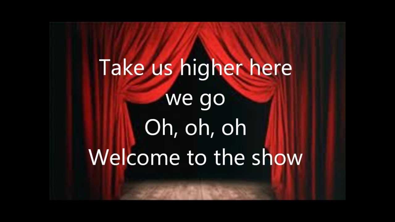 Welcome to the show britt nicole lyrics youtube