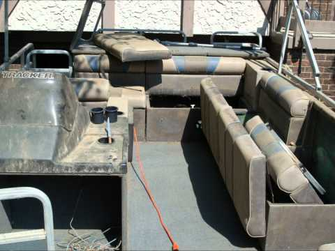 Pontoon boat transformation cleaning Restoration aluminum tube wash polishing. carpet shampoo