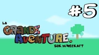 #5 La Grande Aventure sur Minecraft - AMÉNAGEMENT DU MANOIR !