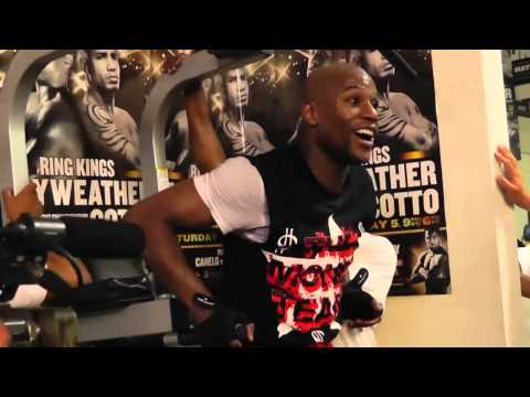 floyd mayweather vs manny pacquiao - mike tyson game plan  EsNews
