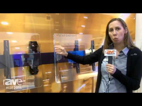 ISE 2016: Chief Discusses LWM4X1U Fusion Mounts for Menu Boards