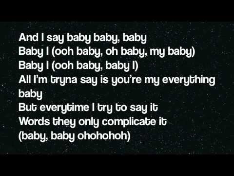 Ariana Grande - Baby I (lyrics On Screen) video