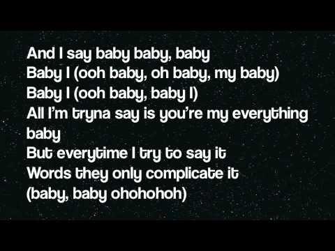 Ariana Grande - Baby I (lyrics On Screen) video
