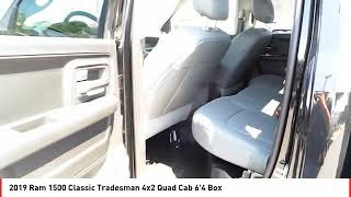2019 Ram 1500 Classic Midland TX KS628444