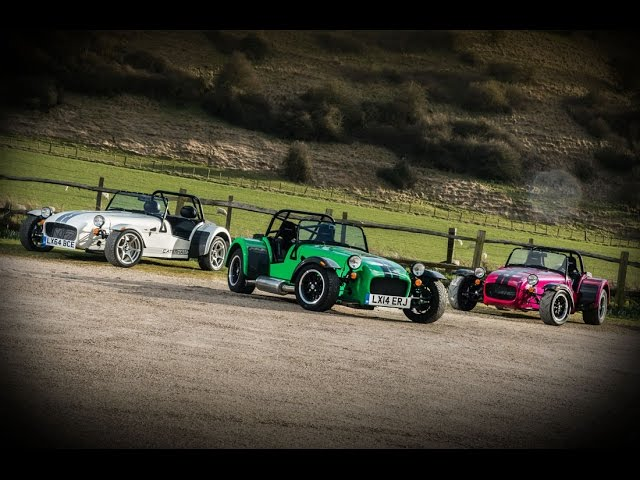 2016 Caterham Seven 270, 360 and 420 : New Models