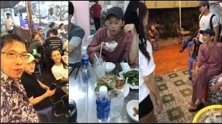 Hoài Linh cùng Đông Nhi và Ông Cao Thắng ghé quán Chế Thành Giao Cần Thơ ăn khuya