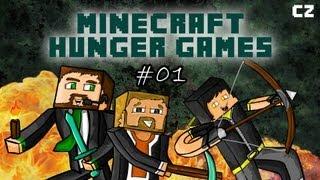 Minecraft Hunger Games #01 - Alespoň jedna výhra!!! | Český Let's Play/FullHD