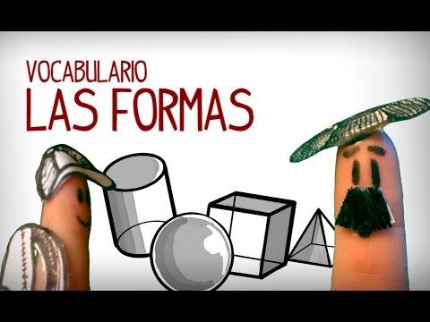 Las Formas En Espanol, Vocabulario