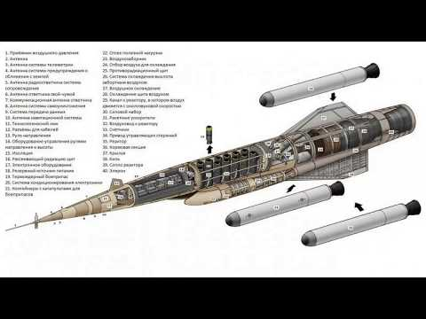 Крылатая ракета с ядерным двигателем