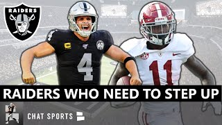 Las Vegas Raiders: 5 Players That Need To Step Up On Offense In 2020 Ft. Derek Carr & Henry Ruggs