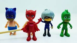 PRO Toys and Learn with False masks for five little pj mask kids from wooden box toys for kids