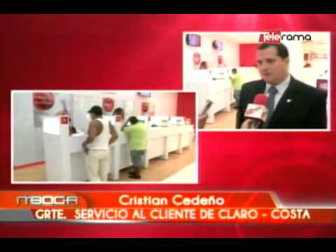 Inauguración nueva nuevo local Claro Paseo Shopping La Península