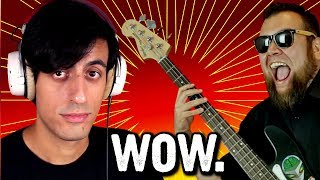 Davie504 Hardest Bass Riff Ever? OMG! || Epic Game Music Cover