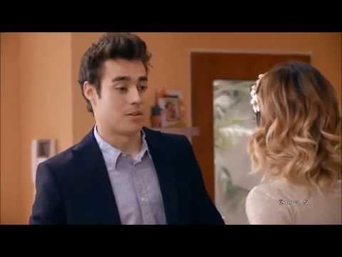 León va a la fiesta de compromiso de Germán y habla con Violetta (03x30)