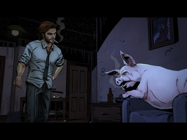 CZ/SK LP - The Wolf Among Us - PART 2 - Český Let's Play