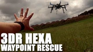 Flite Test - ArduCopter 3DR Hexa Waypoint Rescue