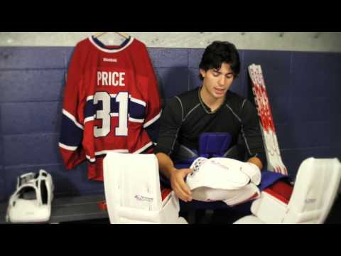 Carey Price & CCM EFlex Pro Catcher: Pro Hockey Life