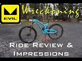 2017 Evil Wreckoning || Ride Review & Impressions || Beacon Hill || Spokane, WA