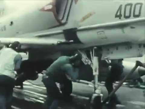US Navy ATTACK AIRCRAFT CARRIERS: READY ON ARRIVAL (1966) - CharlieDeanArchives