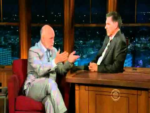 John Malkovich on The LLS with Craig Ferguson 10/11/10 (part 1)