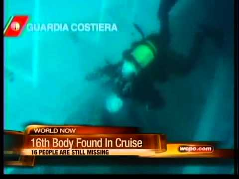 Rescuers find another body in cruise ship wreck