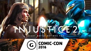 Injustice 2 - Wonder Woman and Blue Beetle Reveal Trailer at Comic-Con 2016