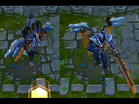 Mecha Malphite - Skin Spotlight - League Of Legends | How ...