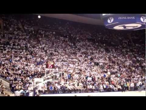 BYU Flash Mob vs Gonzaga 2012