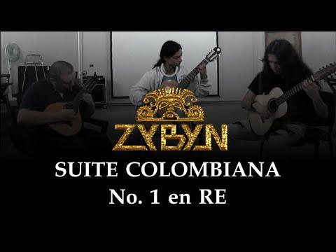 ZYBYN - Suite Colombiana No 1 en Re [Ritmos Varios]
