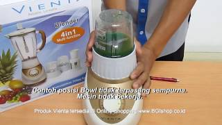 Vienta - Cara Penggunaan Vienta Blender