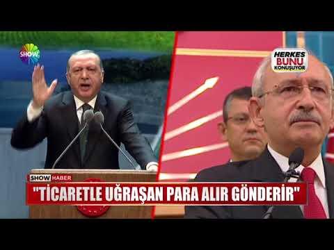 """Erdoğan: """"Böyle bir yalan olur mu?"""""""