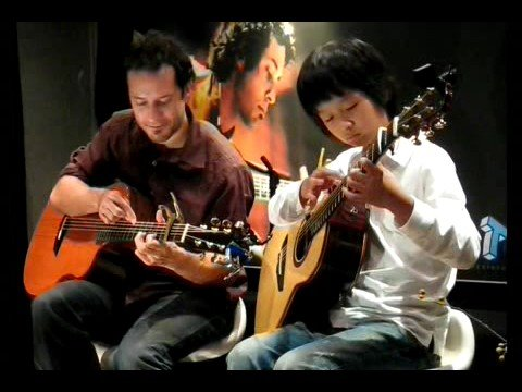 (pachelbel) Canon  - Trace Bundy & Sungha Jung video