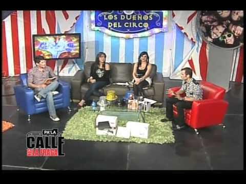 Venya Carolina Se Quita Los Pantalones en Programa De Tv Comentan Los Dueños Del Circo